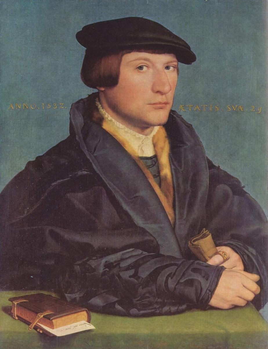 Ганс Гольбейн Младший. Портрет члена семьи Ведиг