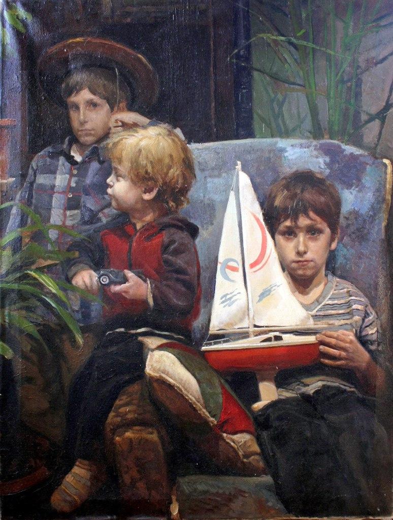 "Ilya Alexandrovich Bogatov. ""The dreamers"""