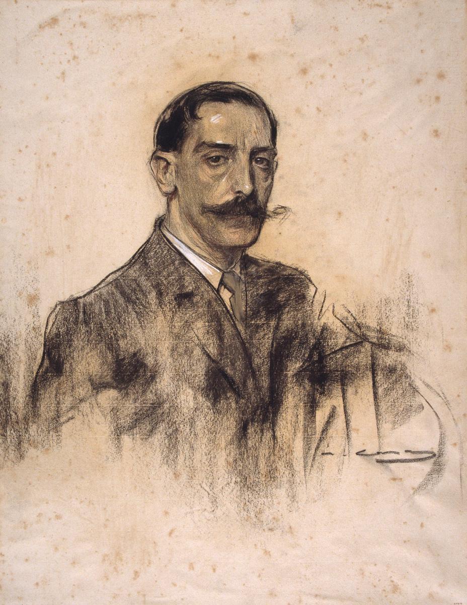 Рамон Касас Карбо. Портрет Хоакима Малаца