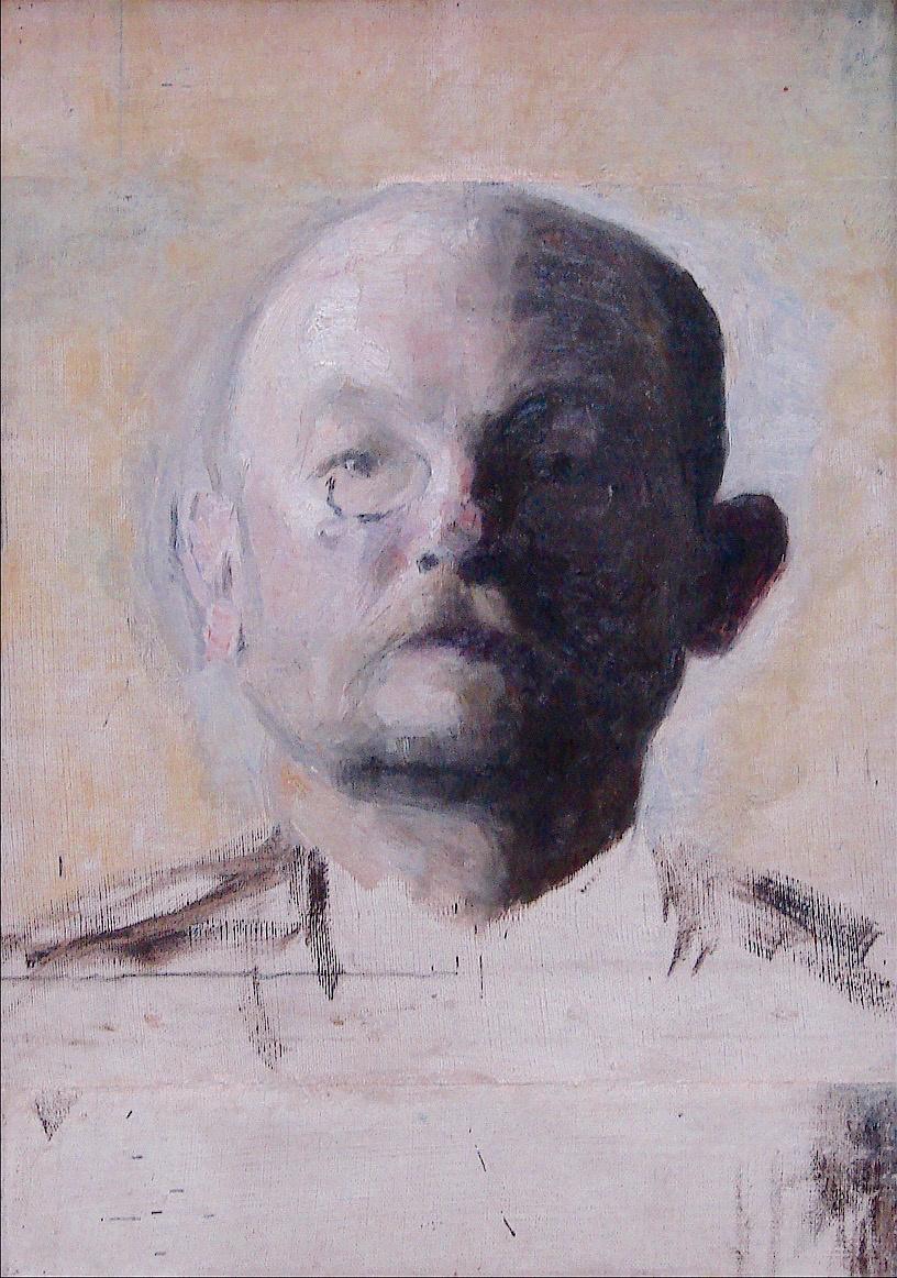 Вильгельм Хаммерсхёй. Портрет художника Кристиана Захртманна