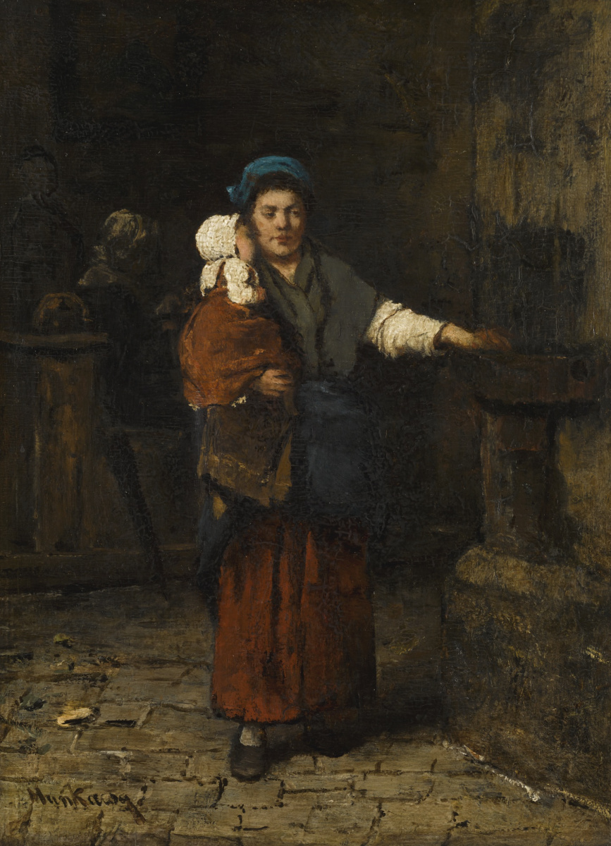 Михай Либ Мункачи. Мать и дитя