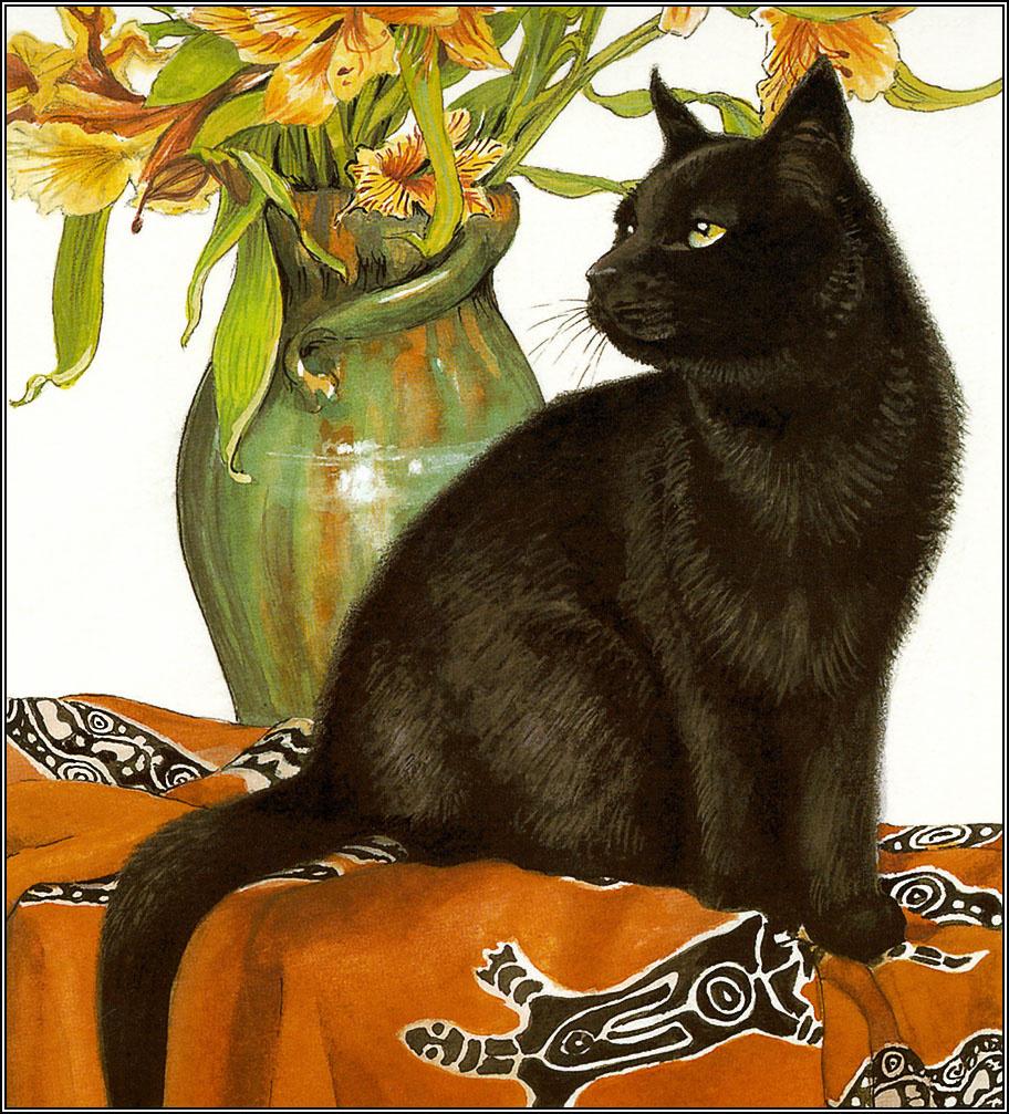 Крисси Снеллинг. Черный кот