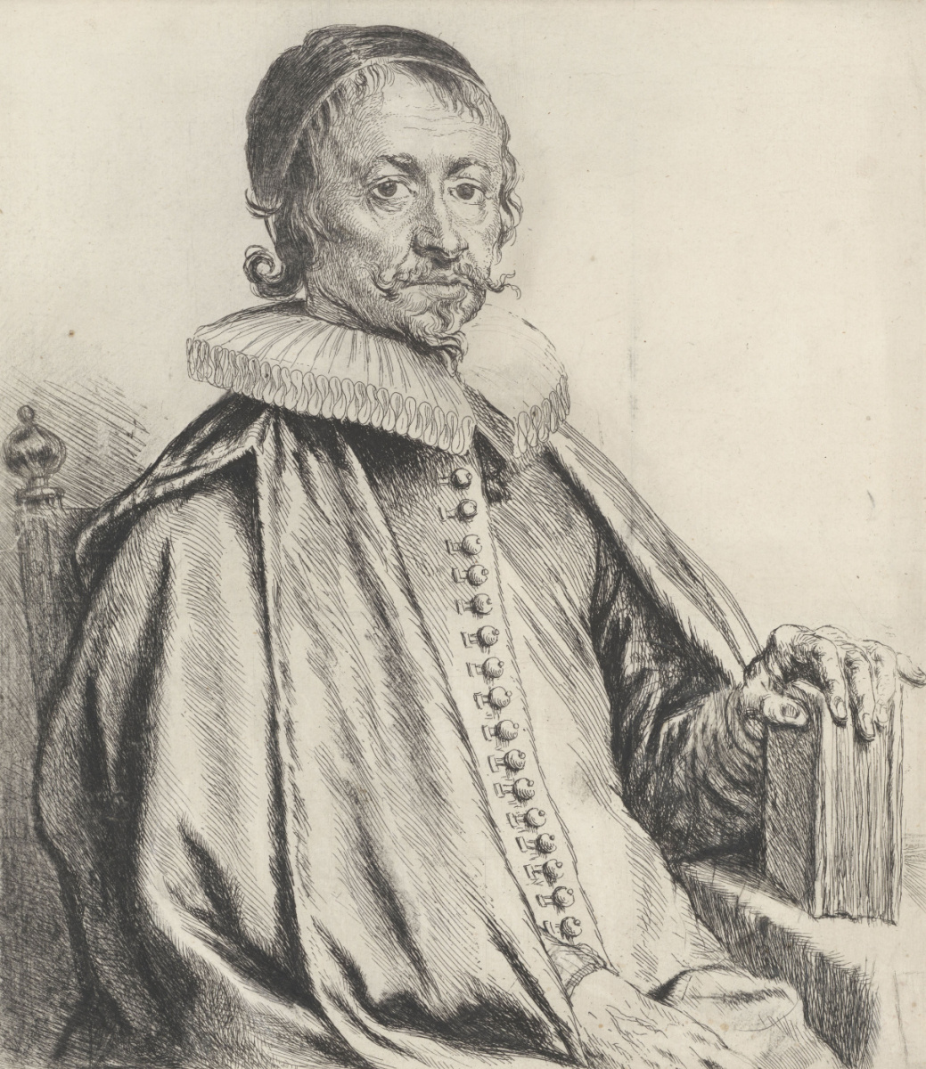 Jan Lievens. Portrait of pastor Caspar Streso