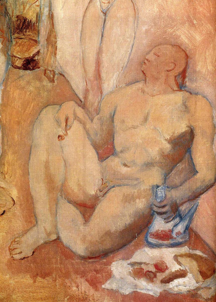 Пабло Пикассо. Гарем (фрагмент)