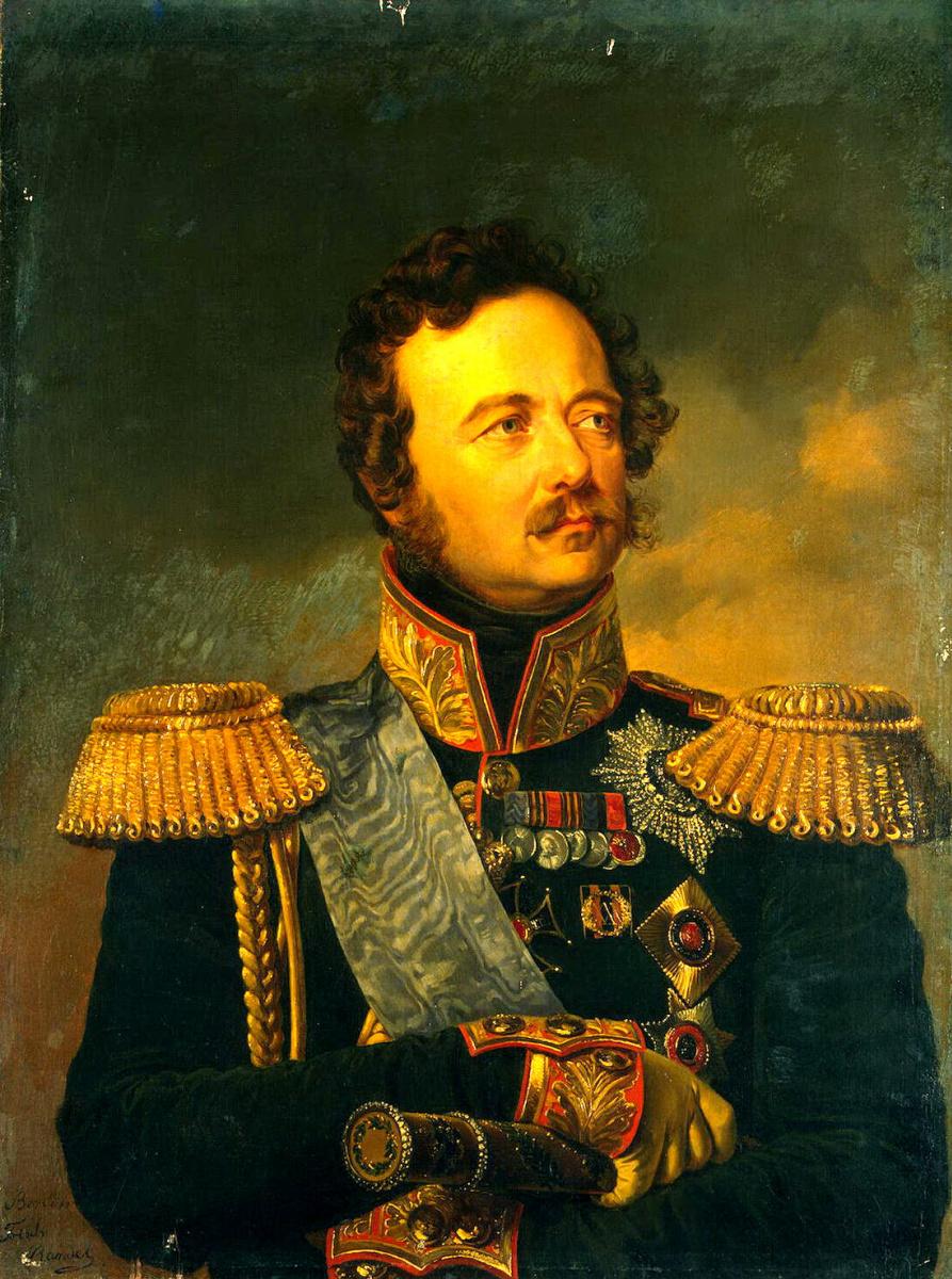 Фридрих Рандель. Портрет Ивана Федоровича Паскевича