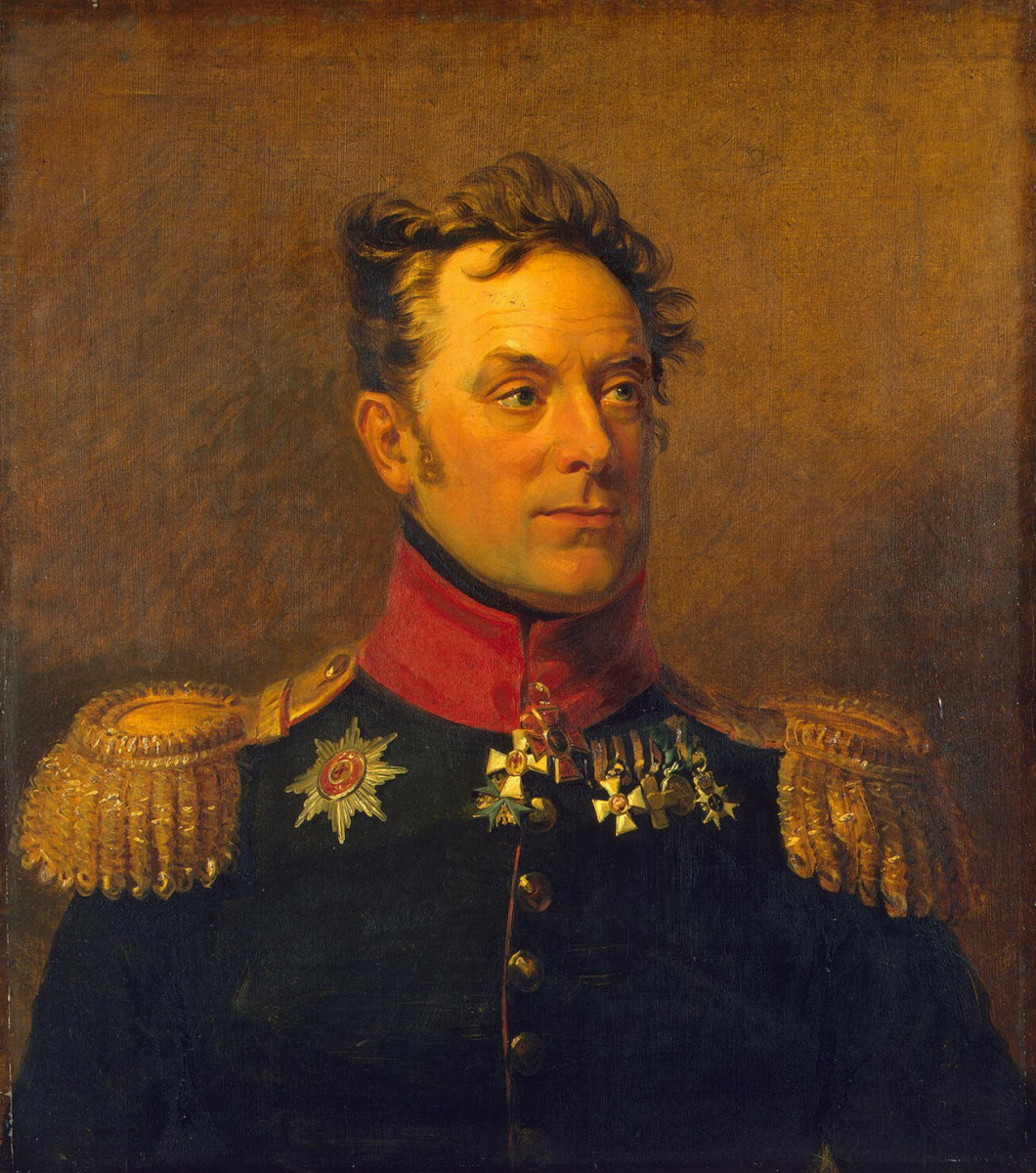 George Dow. Portrait of Ermolai Fedorovich Kern