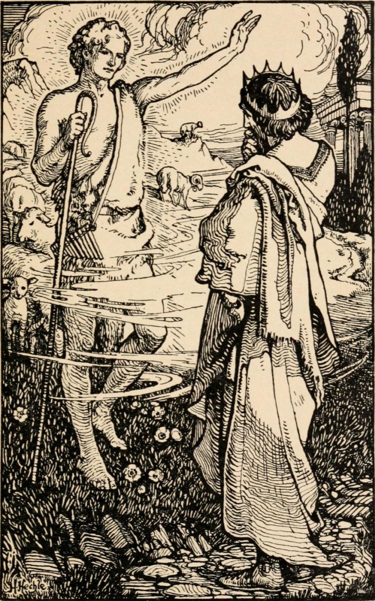 Уильям Моррис. Истории о Рае земном. Король Адмет получает колчан со стрелами
