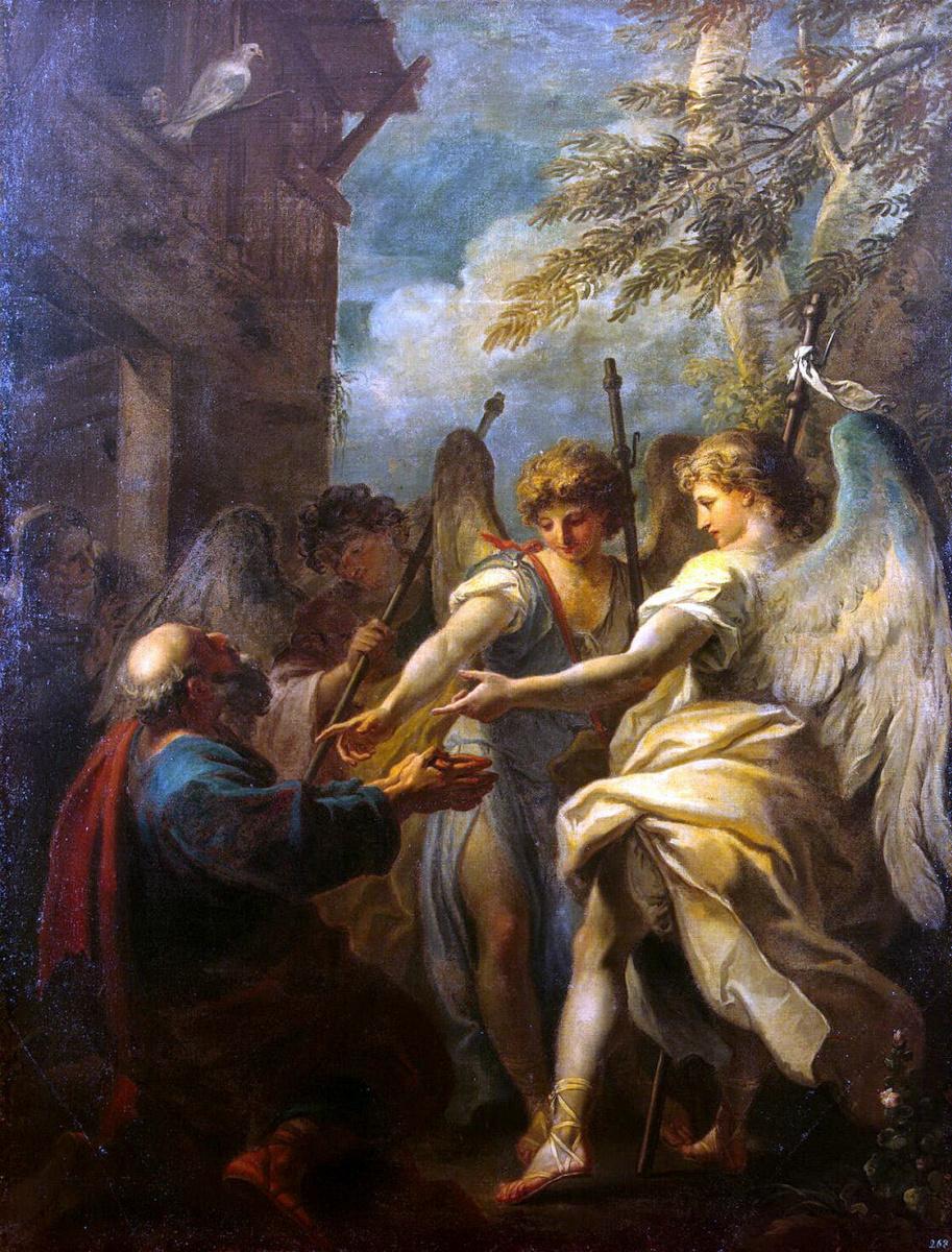 Себастьяно Риччи. Авраам и три ангела