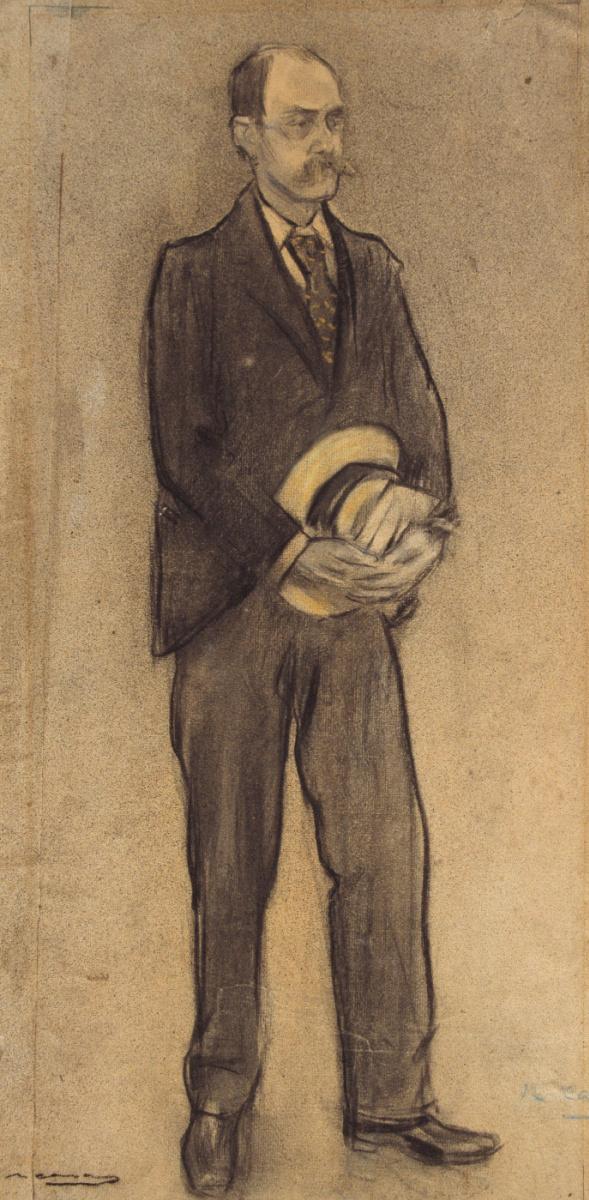 Рамон Касас Карбо. Портрет Хосепа М. Паскуаля