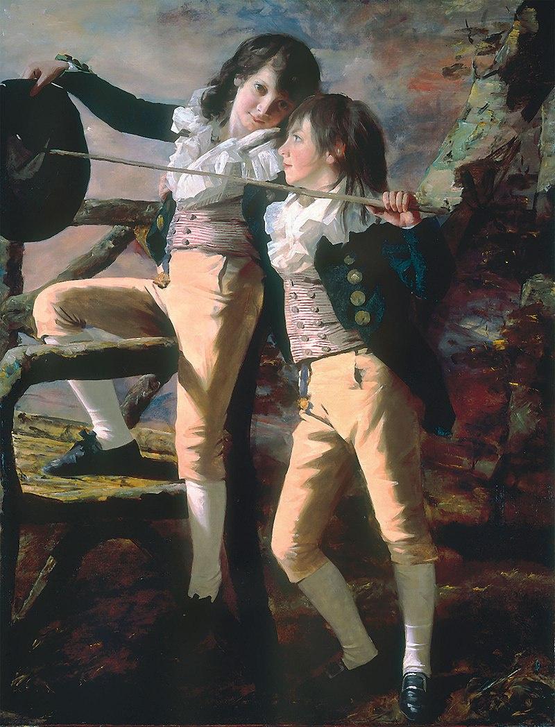 Henry Rebern. Portrait of James and John Lee Allen