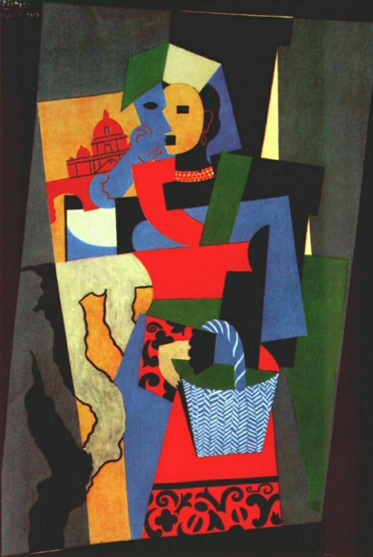 Пабло Пикассо. Итальянская девушка