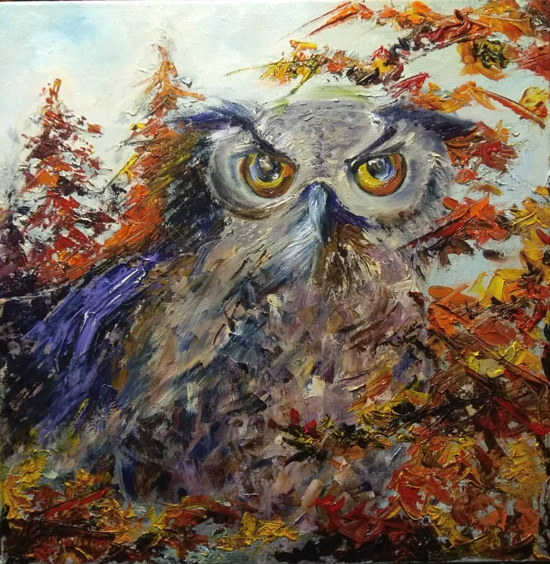 Nadezhda Anatolyevna Poleva. Owl
