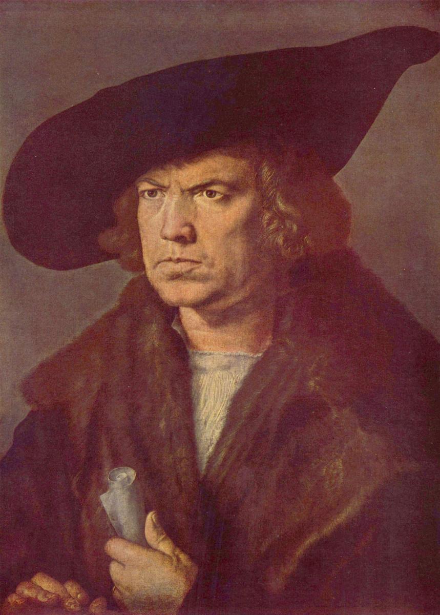 Альбрехт Дюрер. Портрет неизвестного