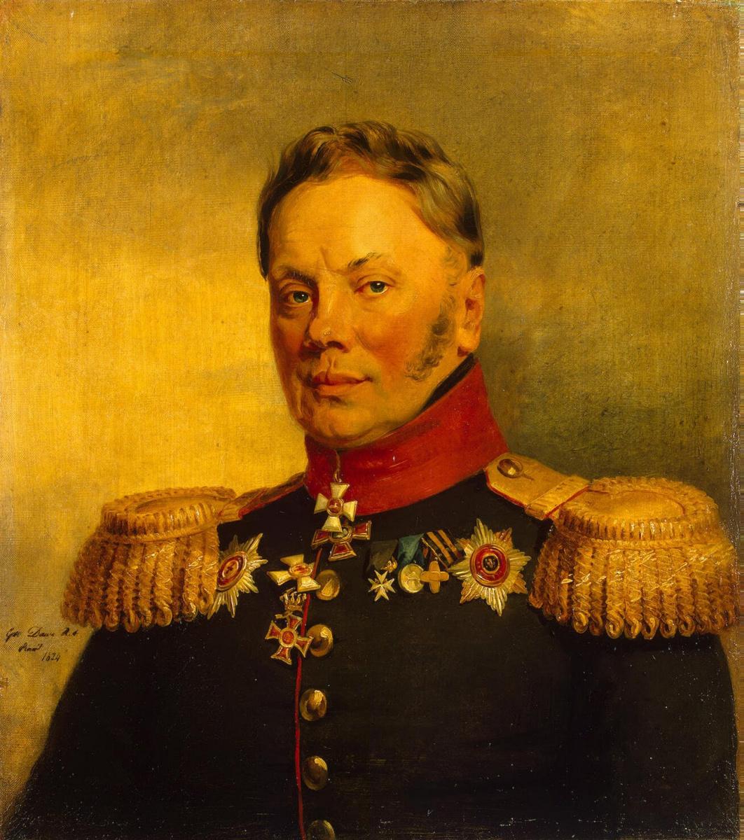 George Dow. Portrait of Ilya Mikhailovich Duki