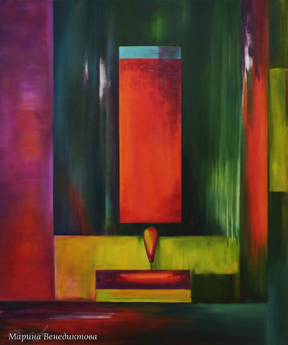 Marina Venediktova. LIGHT AND MIRRORS - original oil painting