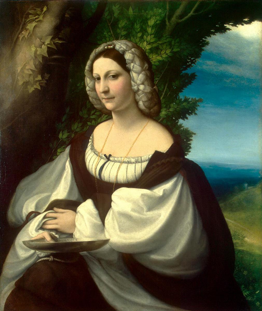 Антонио Корреджо. Женский портрет