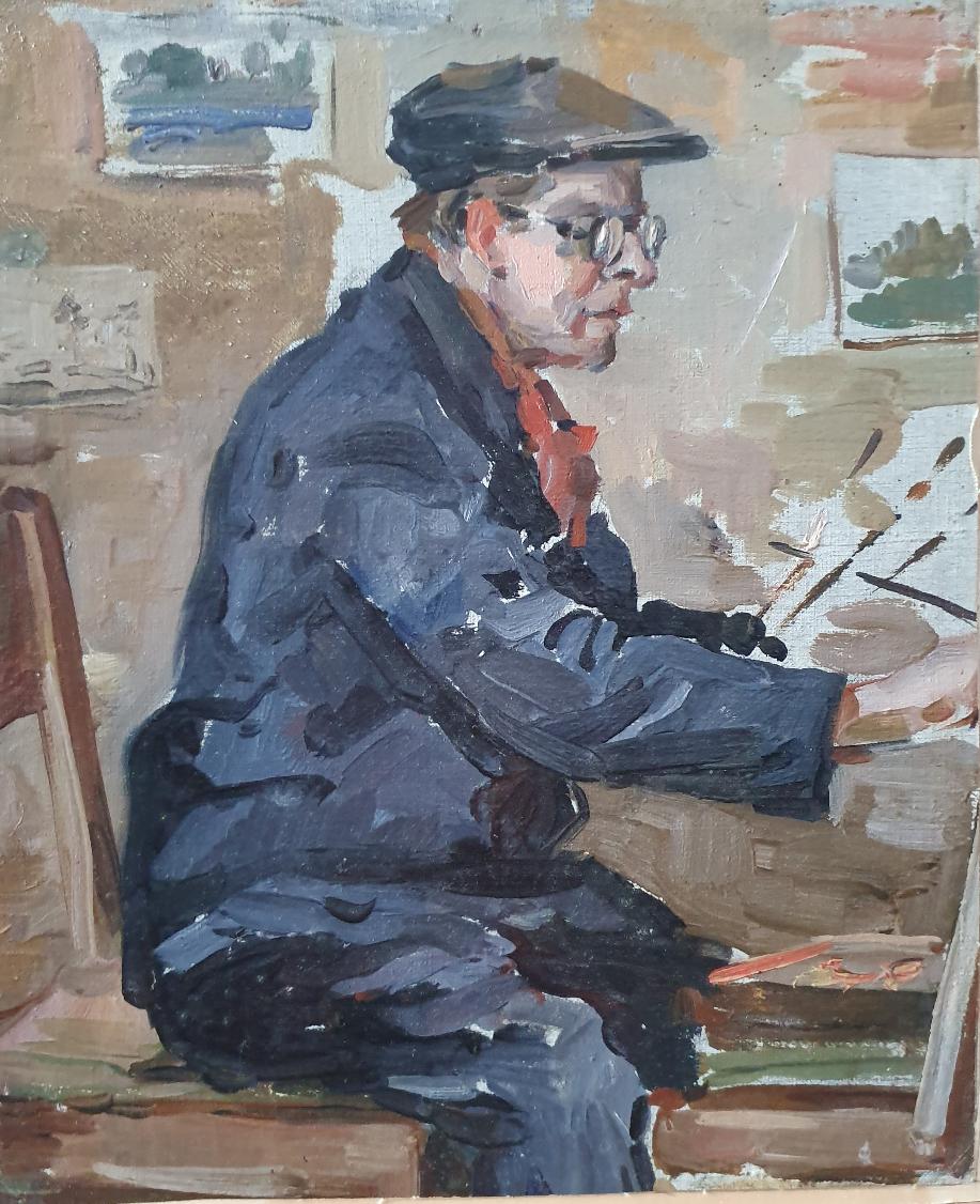 David Pilko. Self-portrait