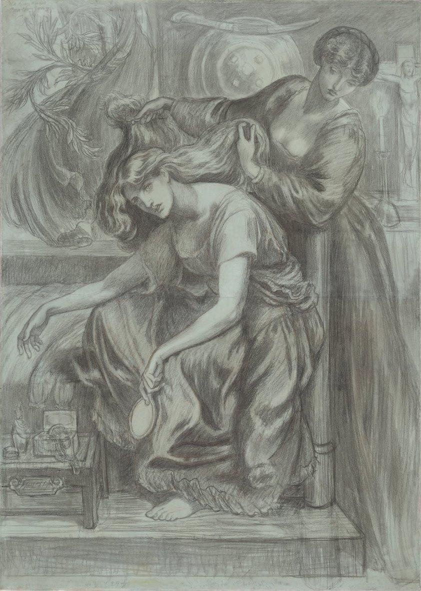 Данте Габриэль Россетти. Песня смерти Дездемоны