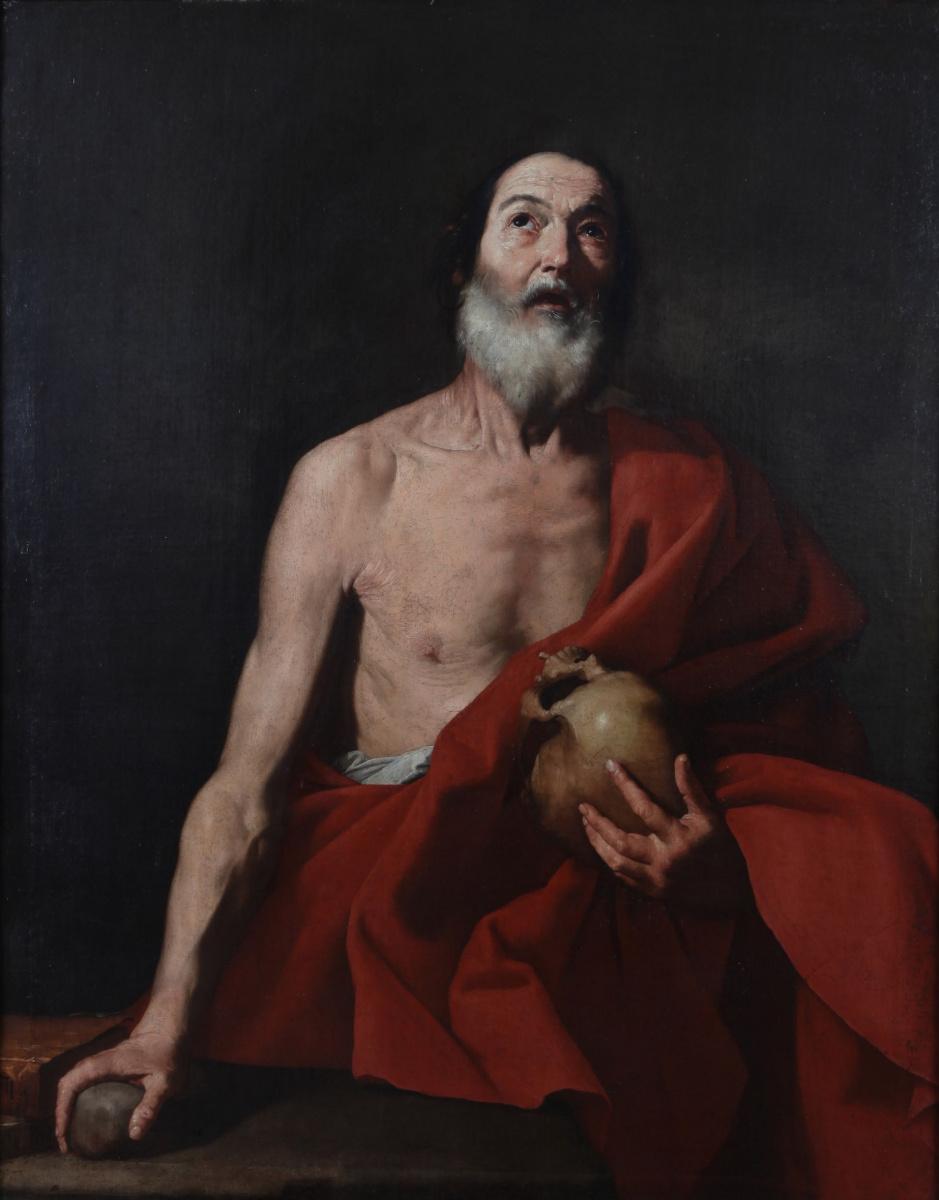 Хосе де Рибера. Святой Иероним