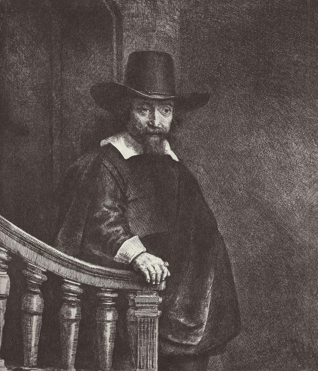 Рембрандт Харменс ван Рейн. Портрет Эфраима Буэно