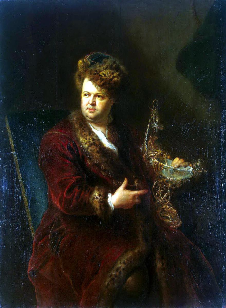 Антуан Пен. Портрет Иоганна Мельхиора Динглингера