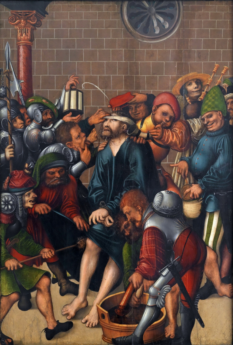 Лукас Кранах Старший. Поругание Христа