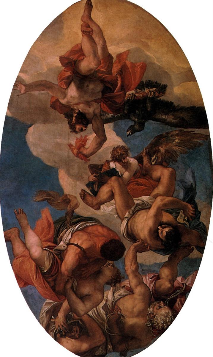 Паоло Веронезе. Юпитер, бичующий пороки