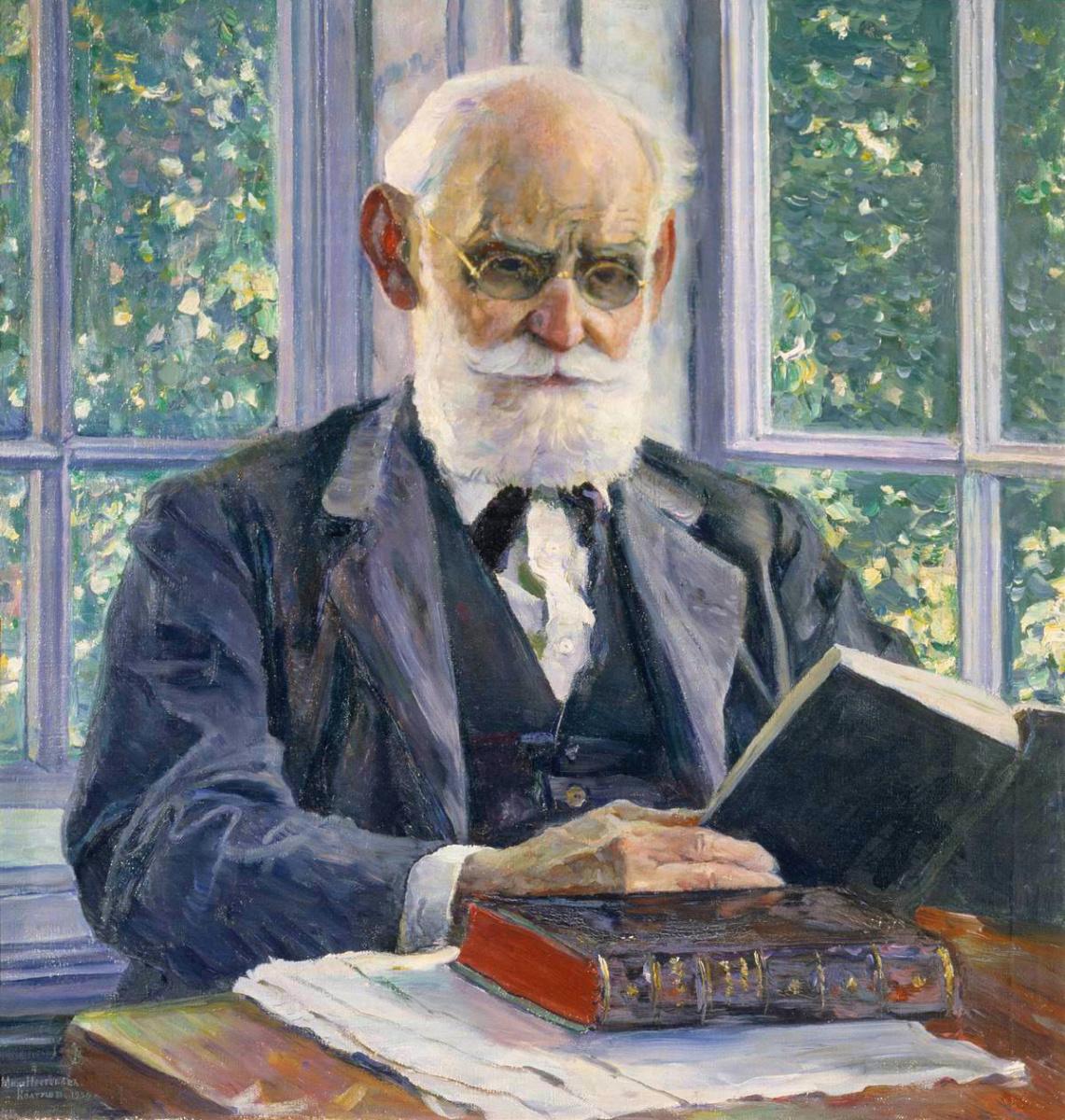 Mikhail Vasilyevich Nesterov. Portrait Of I. P. Pavlov