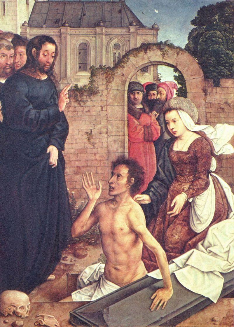Хуан де Фландес. Воскрешение Лазаря