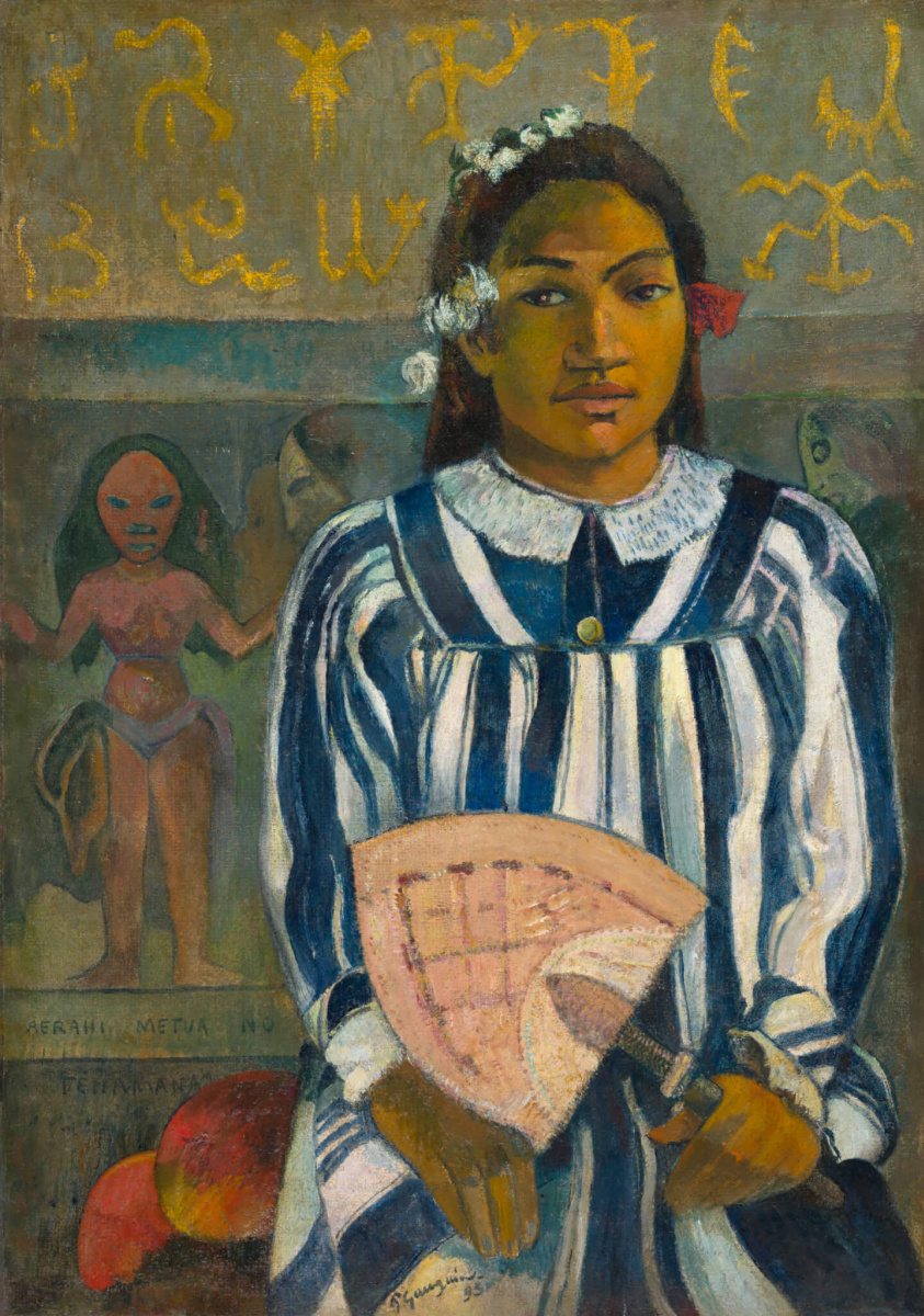 Paul Gauguin. Merahi metua no Tehamana (Tehamana Has Many Parents)