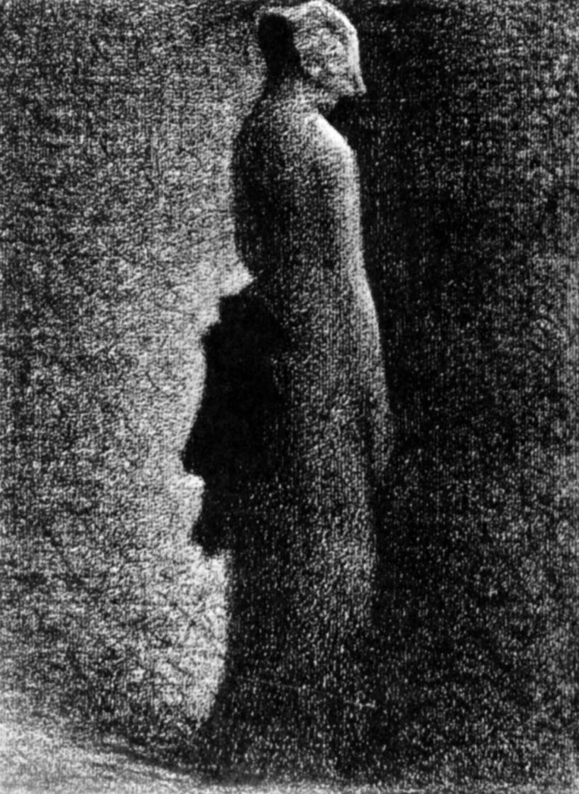Жорж Сёра. Черный бант
