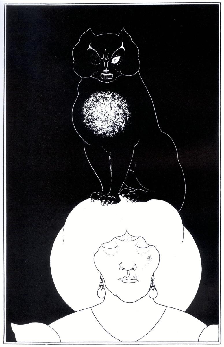 Обри Бердслей. Чёрный кот