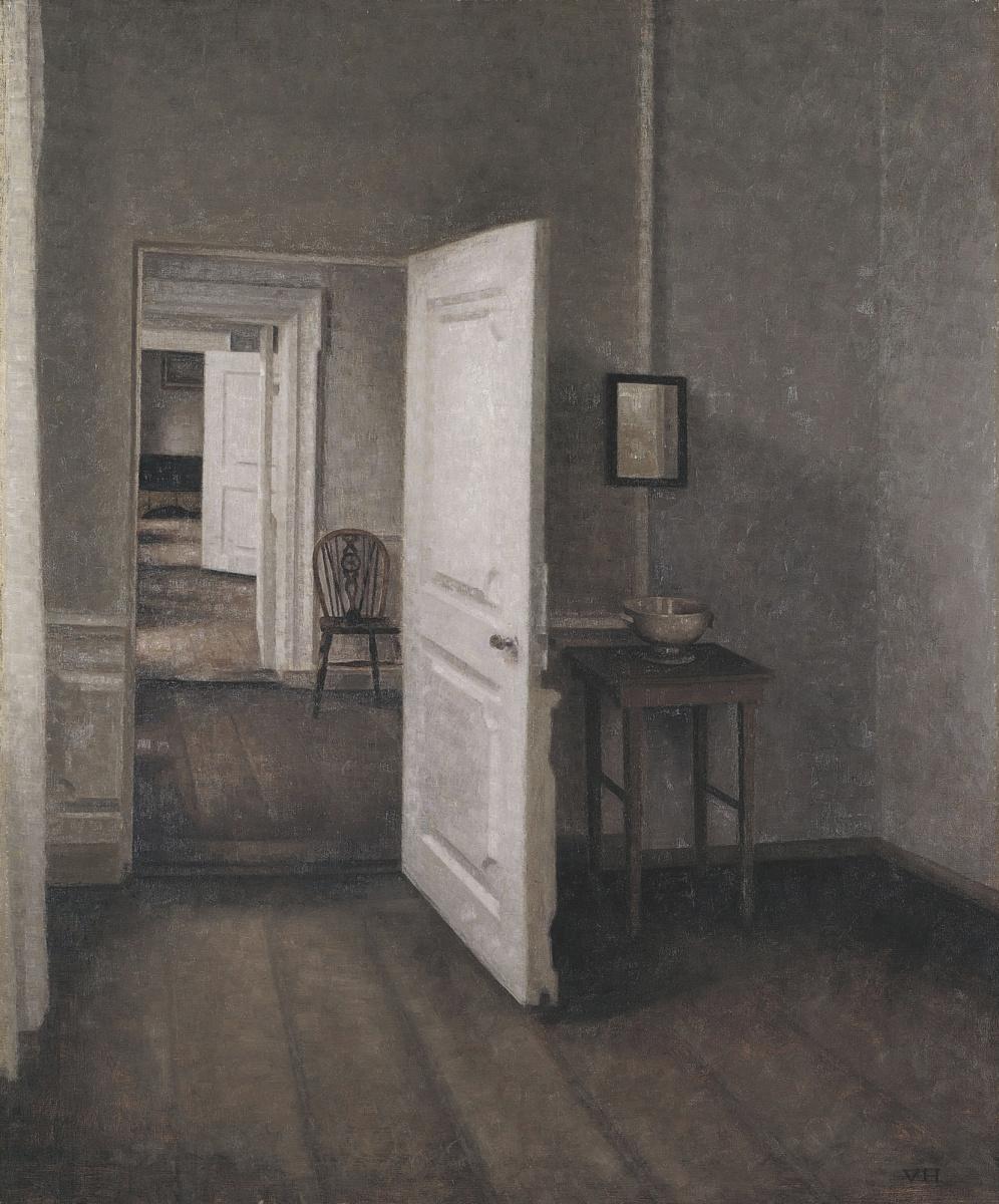Вильгельм Хаммерсхёй. Четыре комнаты