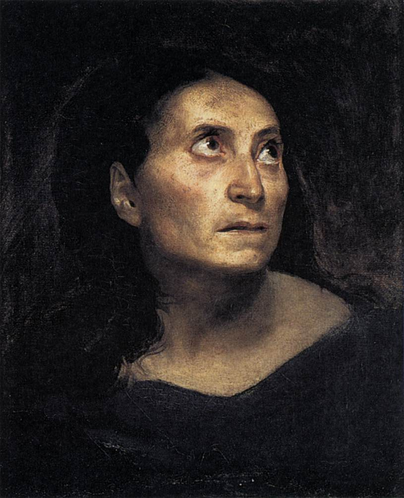 Eugene Delacroix. Crazy girl