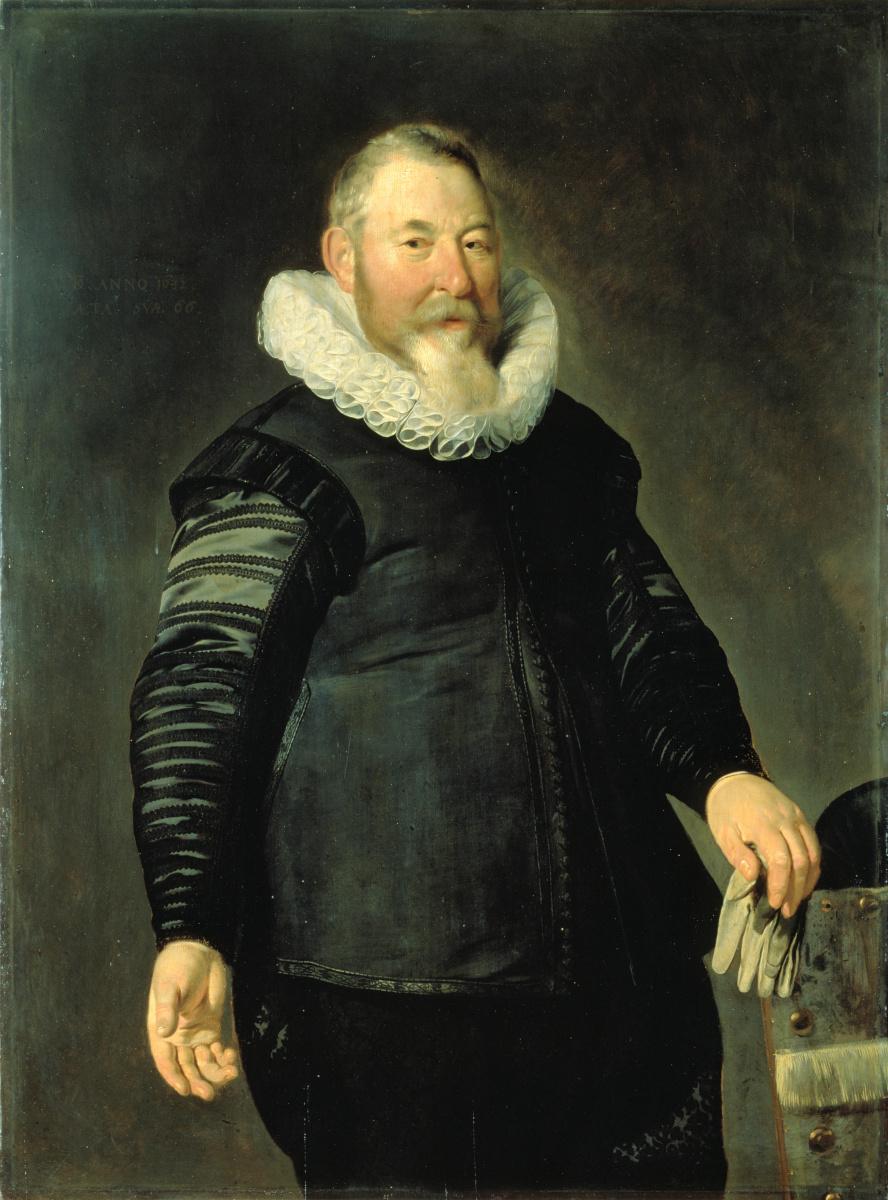 Томас де Кейзер. Портрет мужчины