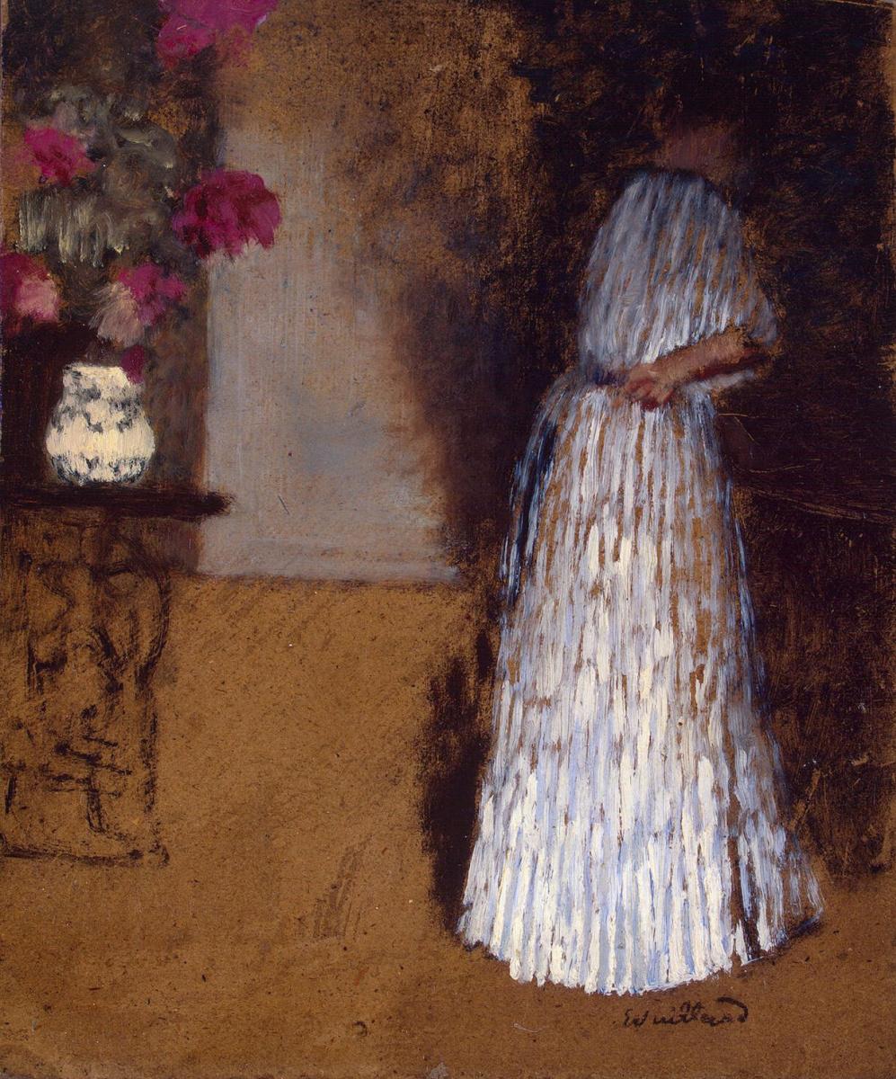 Жан Эдуар Вюйар. Молодая женщина в комнате
