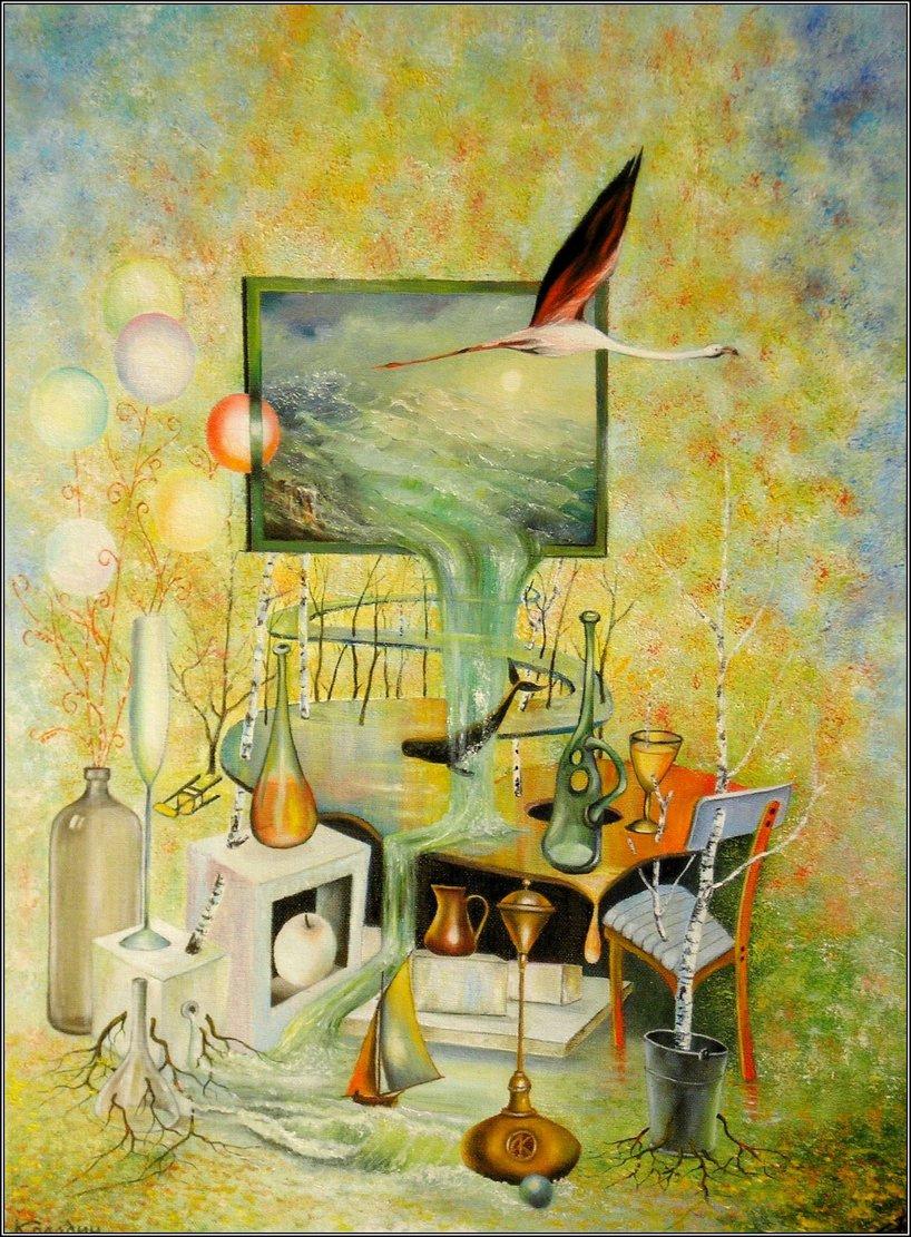 Alexander Ivanovich Kolodin. THE FLIGHT OF THE SOUL