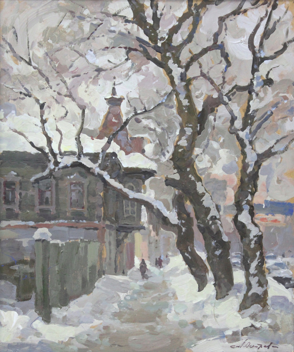 Анатолий Александрович Острецов. Зима в Самаре