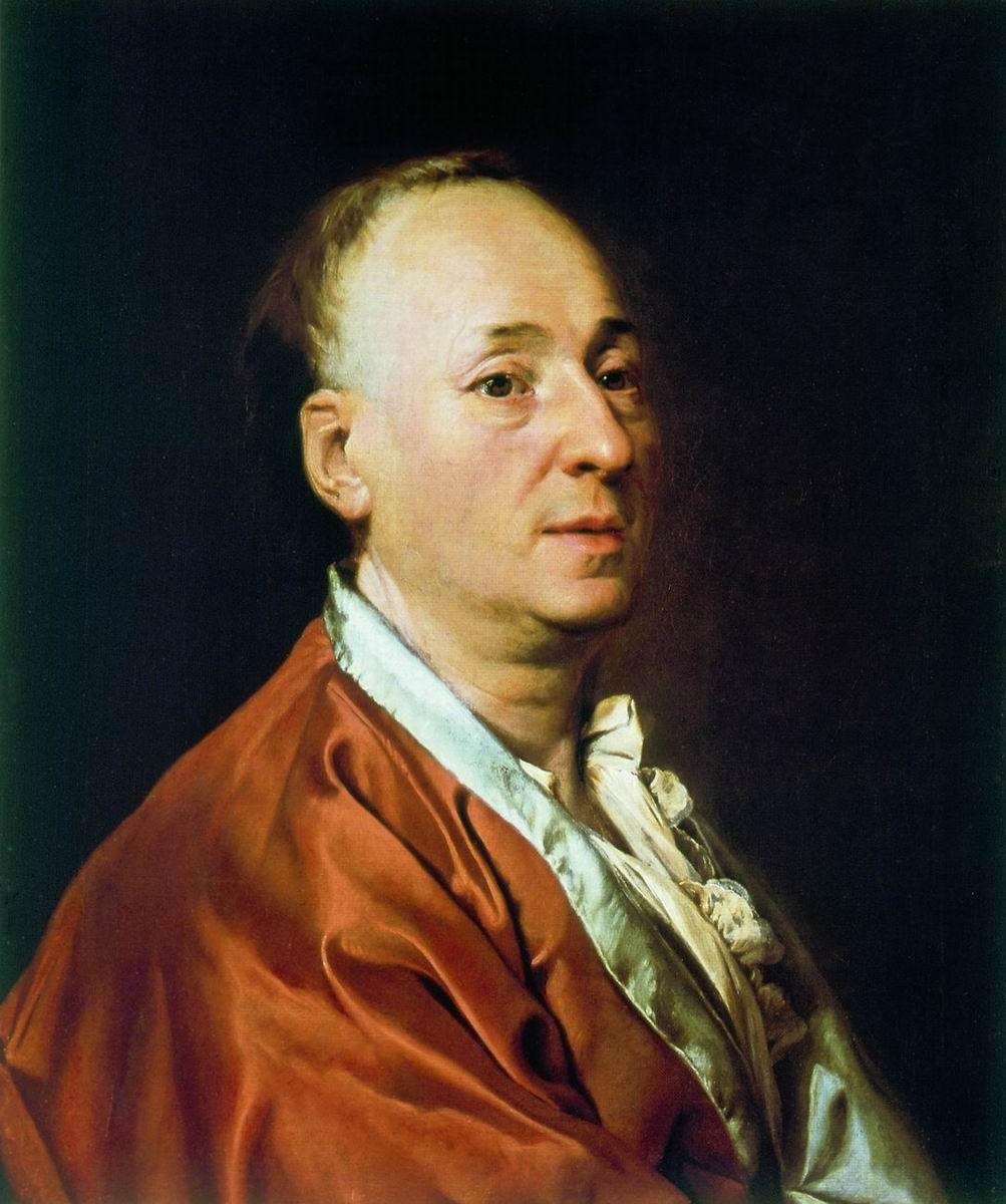 Dmitry Grigorievich Levitsky. Portrait Of Denis Diderot