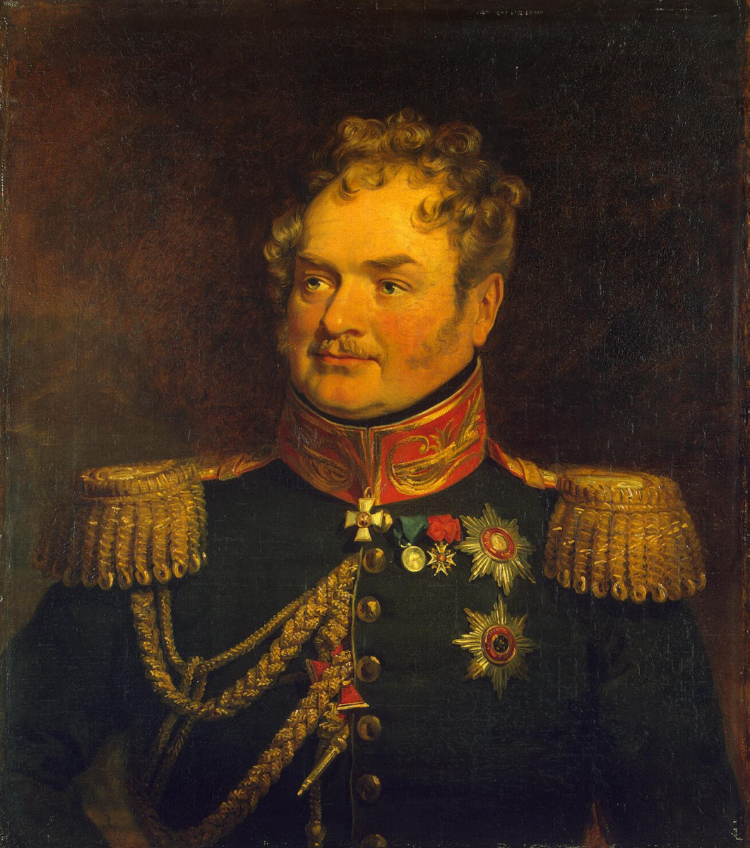 George Dow. Portrait of Karl Osipovich (Charles de) Lambert