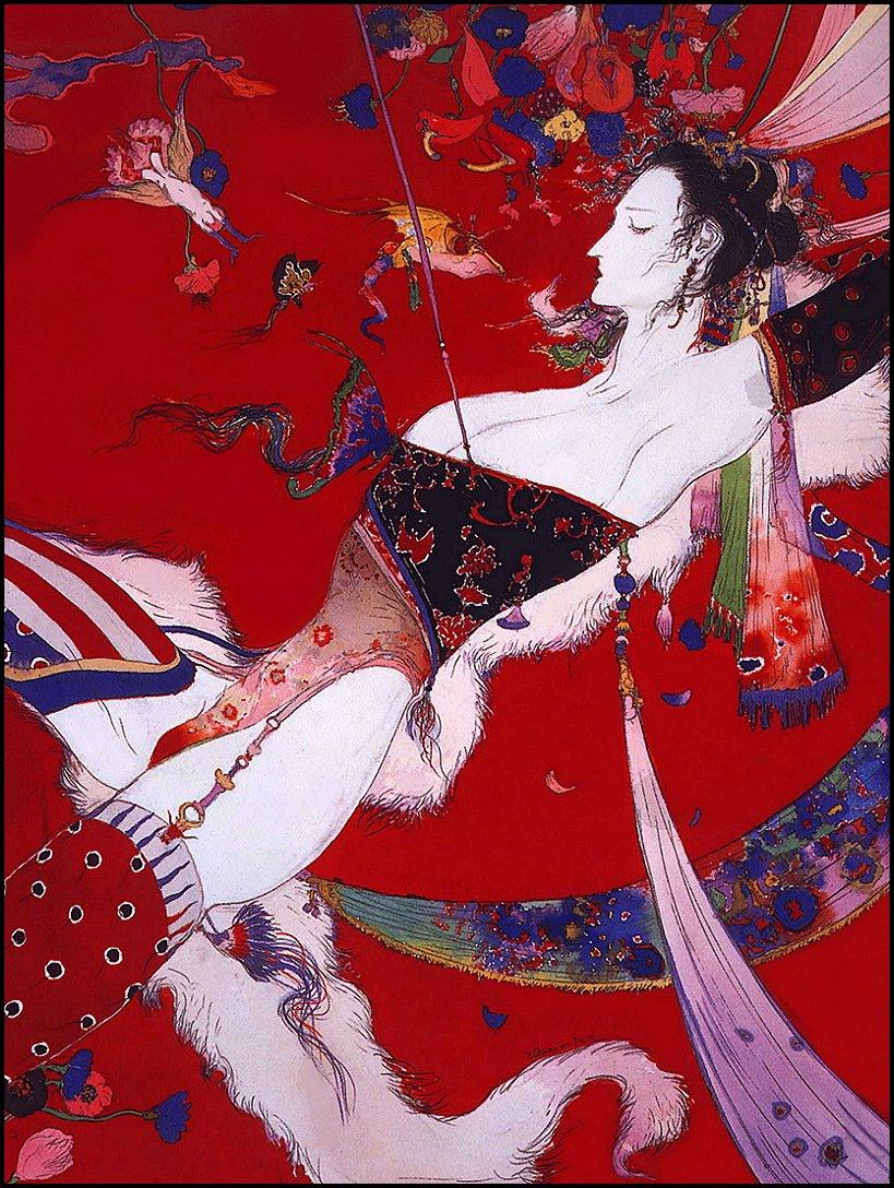 Yoshitaka Amano. Plot 19