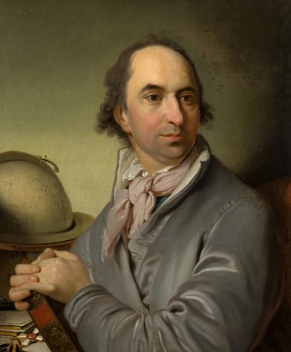 Владимир Лукич Боровиковский. Портрет графа А. С. Хвостова. 1801
