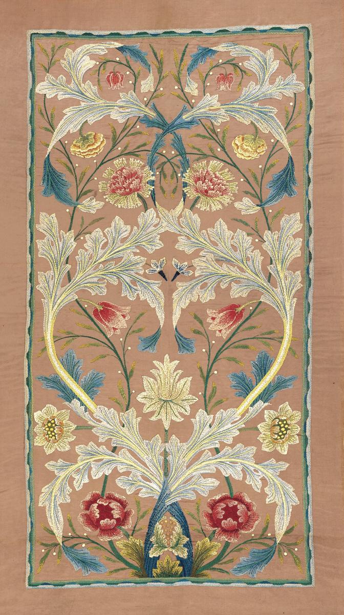 Уильям Моррис. Цветочные изгибы