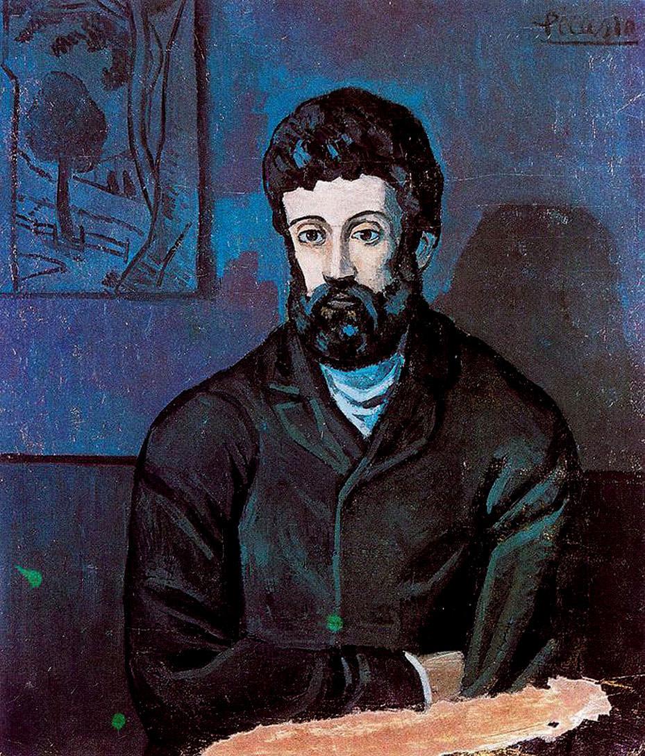 Пабло Пикассо. Портрет мужчины