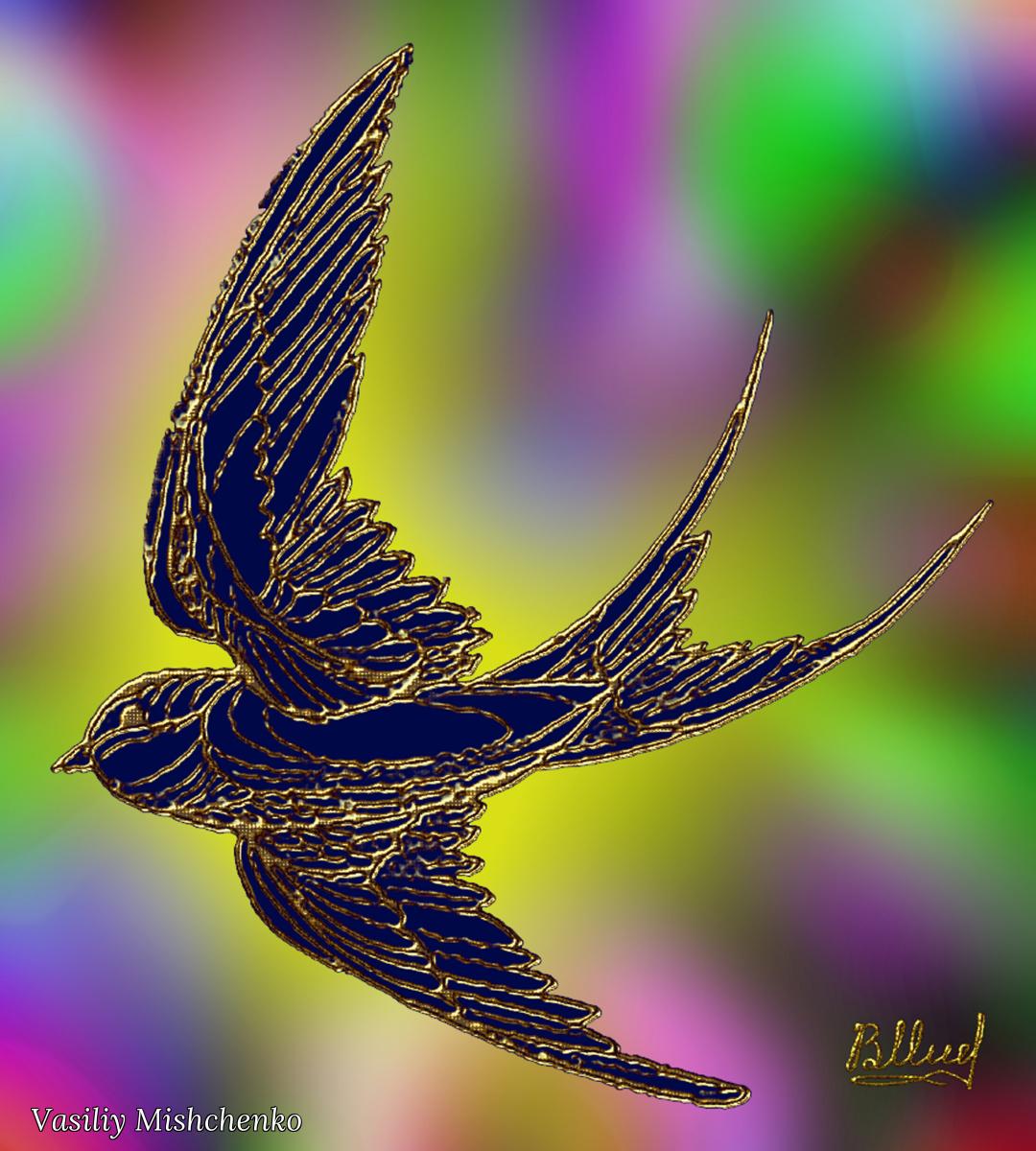 Vasiliy Mishchenko. Birds 023