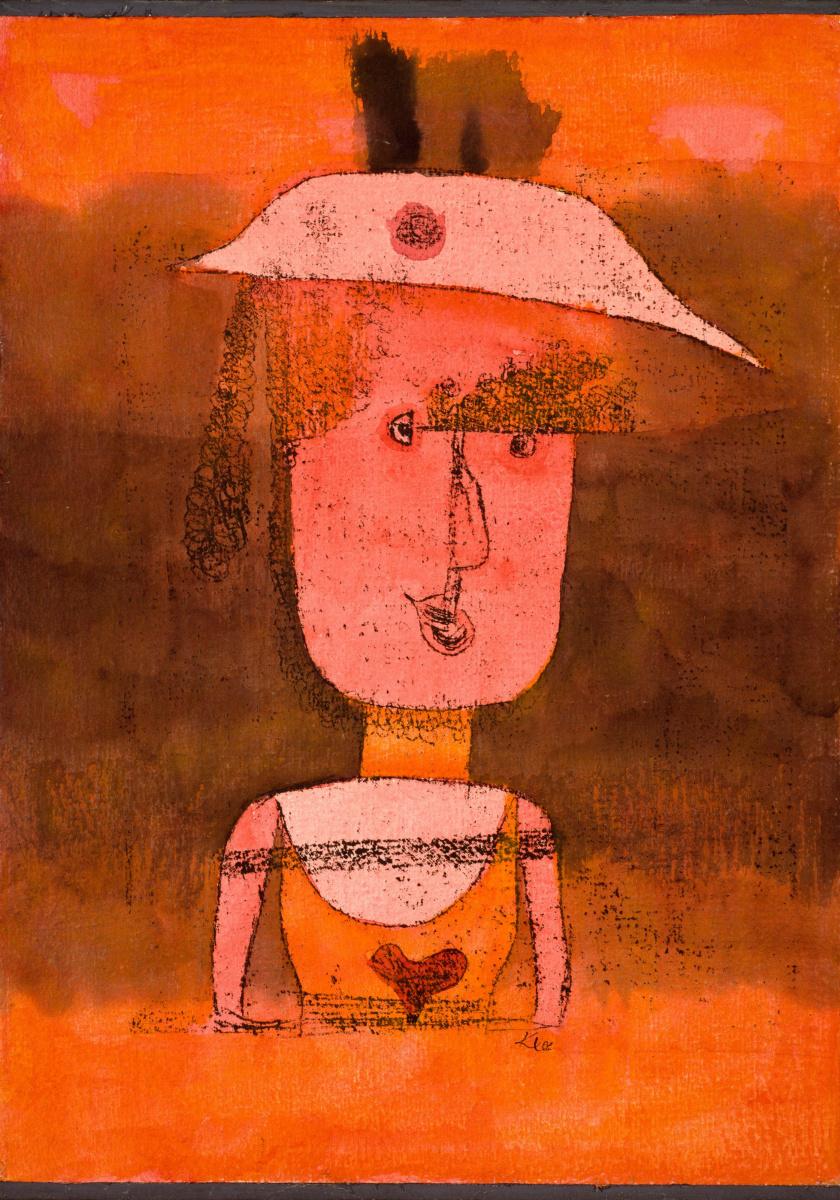Пауль Клее. Портрет госпожи П. на юге