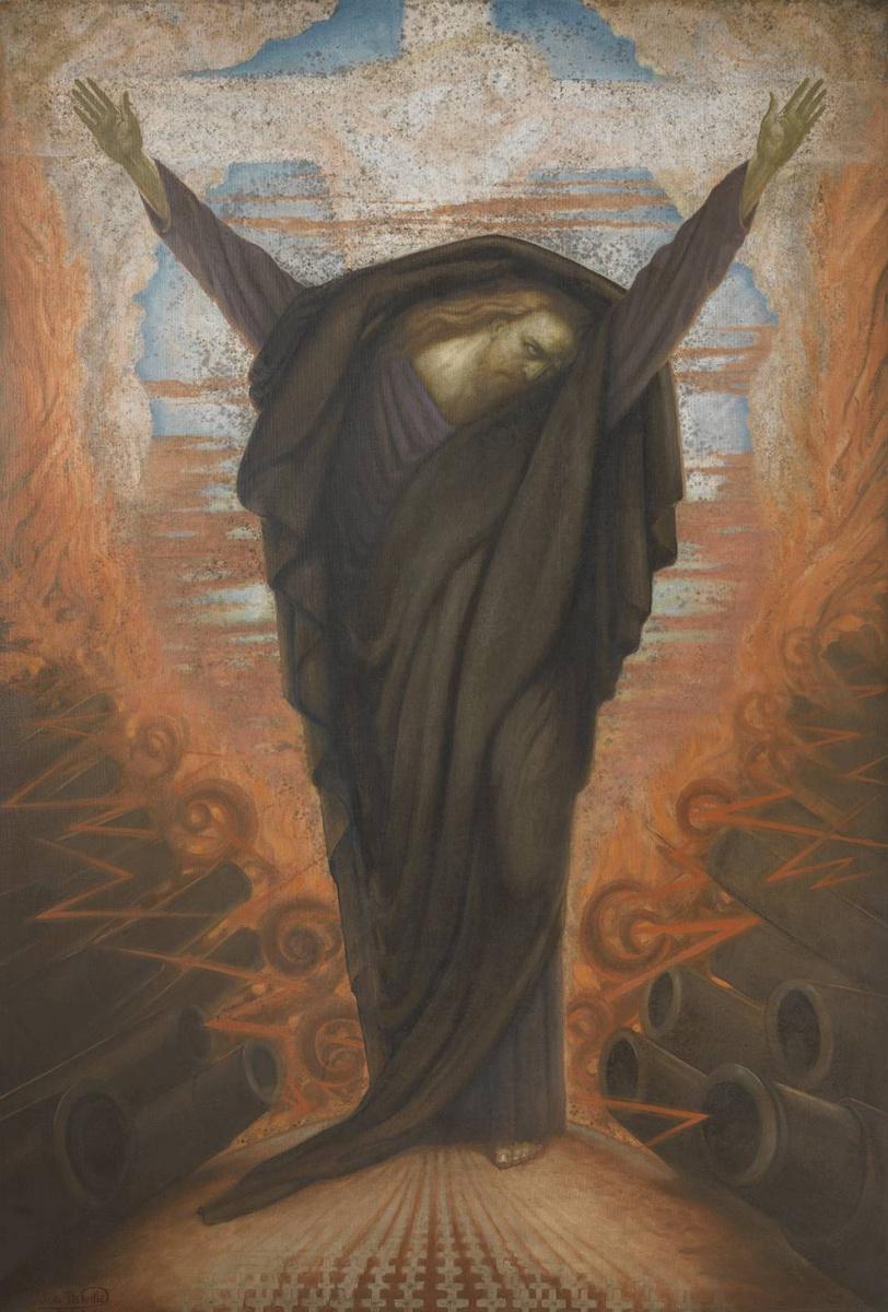 Жан Дельвиль. Война или Христос в траурном одеянии