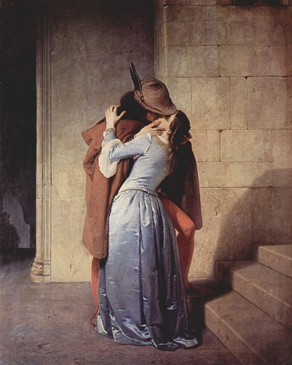 Франческо Айец. Поцелуй