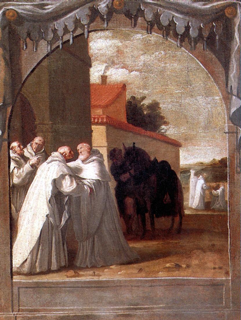 Висенте Кардучо. Святой Бернард Клервосский