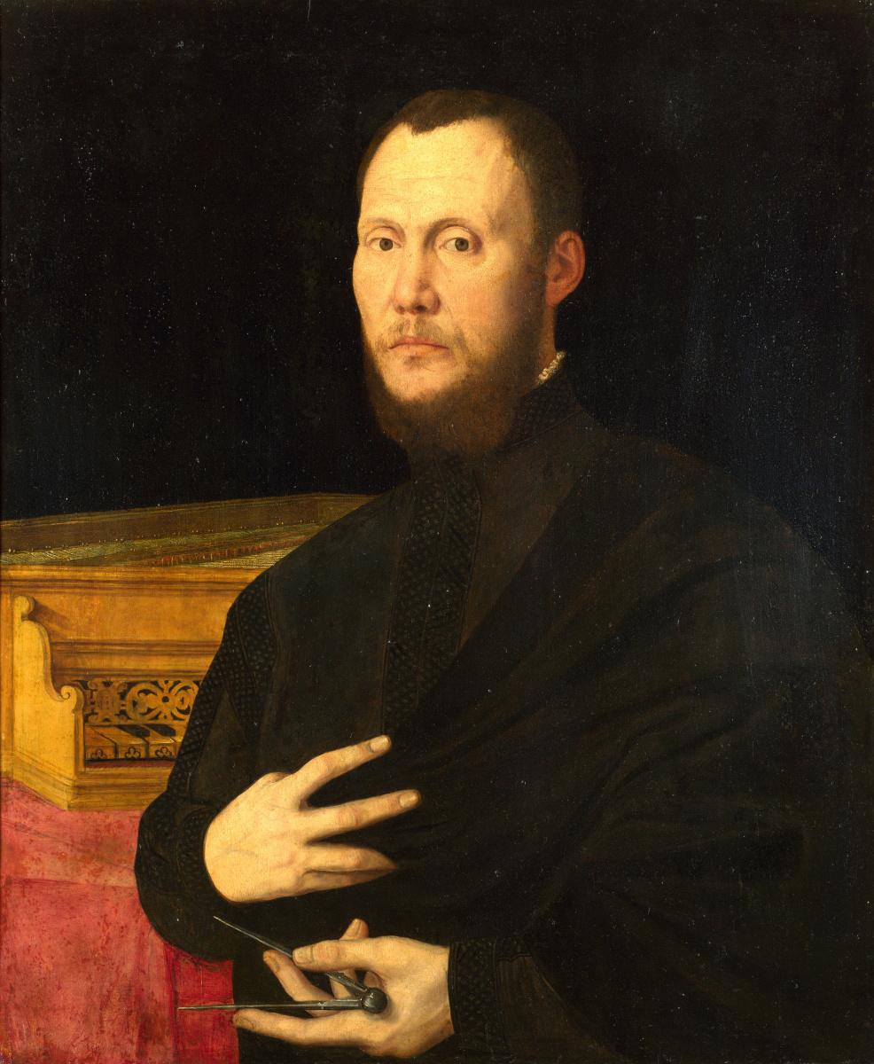 Бернардино Кампи. Портрет музыканта